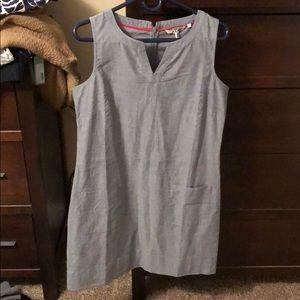 Boden chambray tunic dress